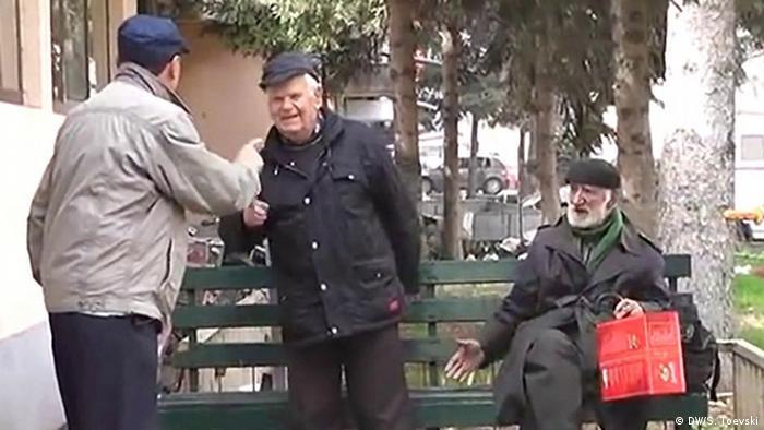 Mazedonien Rentner QUALITÄT SCHLECHT KEIN AUFMACHERBILD