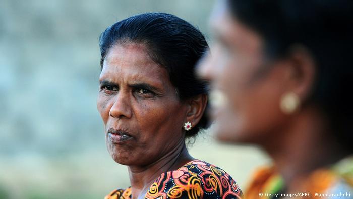 Sri Lanka Kriegswitwen