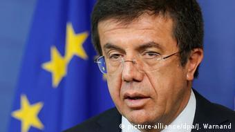 Wirtschaftsminister Türkei Nihat Zeybekci (picture-alliance/dpa/J. Warnand)