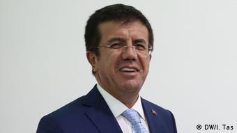 Wirtschaftsminister Türkei Nihat Zeybekci