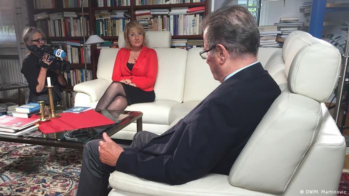 DW TV Interview Klaus Kinkel