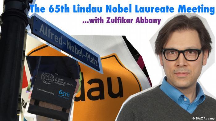 Lindau Nobel Laureate Meeting - Blog Header (Grafik: DW/Zulfikar Abbany).