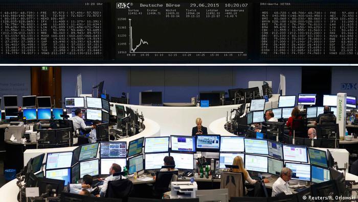 DAX Index Börse in Frankfurt