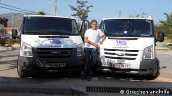 Ο επικεφαλής της πρωτοβουλίας «Βοήθεια για την Ελλάδα» Έρβιν Σριμφ