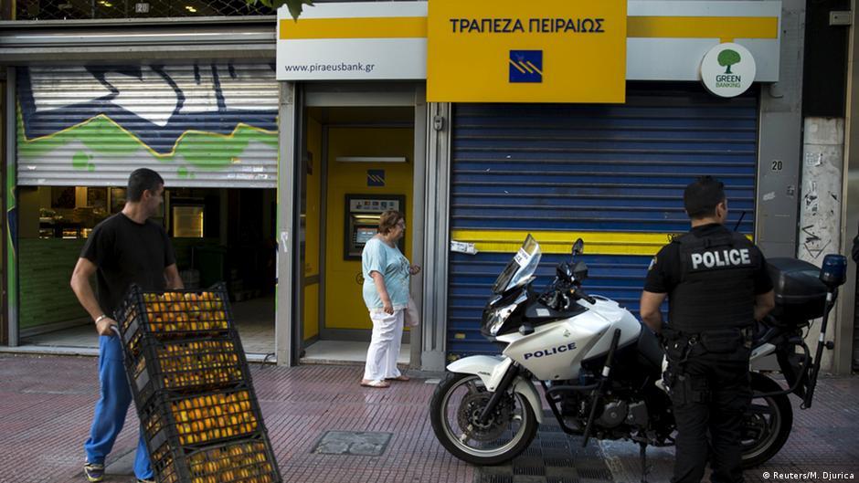Крупнейшие греческие банки нуждаются в миллиардах евро | Новости из Германии о Европе | DW | 31.10.2015
