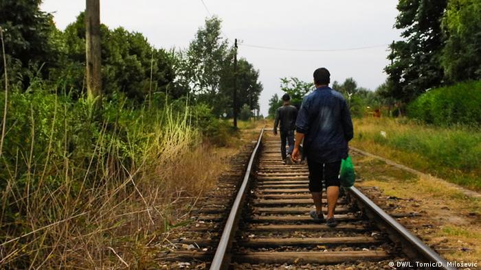 Die Flüchtlings-Krise an der Serbisch-Ungarischen Grenze