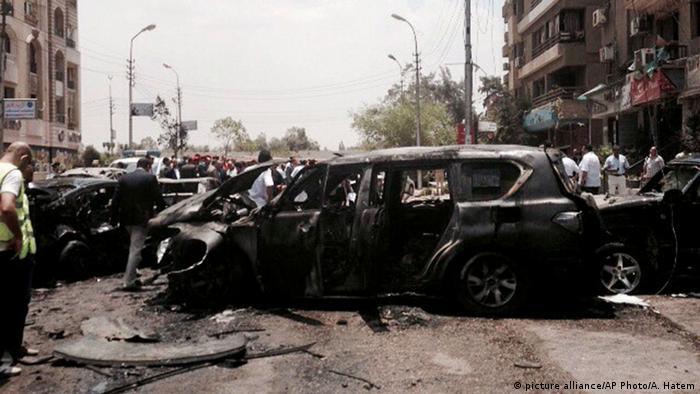 Ägypten Bombenanschlag auf einem Generalstaatsanwalt