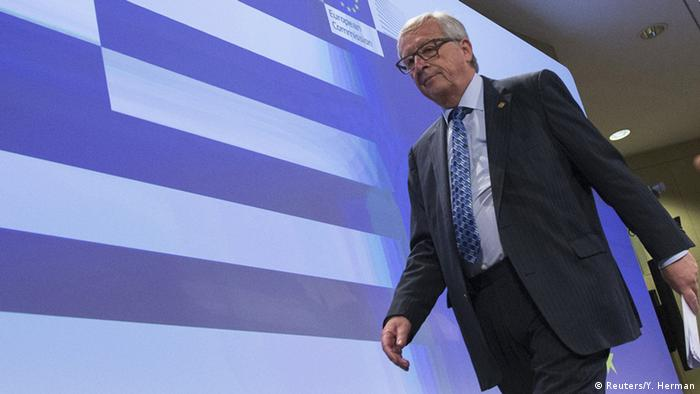 European Commission President Jean-Claude Juncker at a press conference in Brussels on June 29, 2015