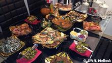 Bild 2: Marokkanisches Essen zum Ramadan. Copyright: DW/Imane Mellouk
