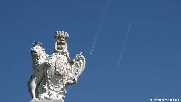 Бамбергский лев на Главных воротах дворца Зеехоф