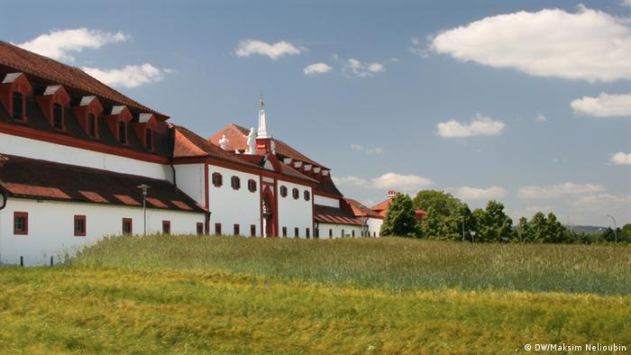 Меммельсдорфские ворота с наружной стороны