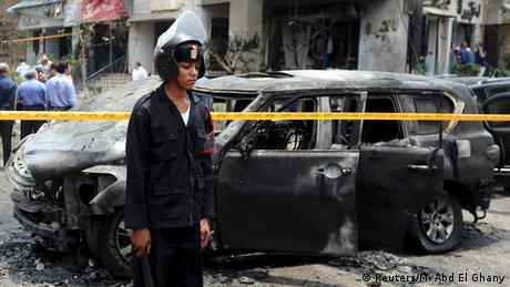 Ägypten Anschlag auf den Generalstaatsanwalt Hisham Barakat