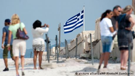 Touristen in Griechenland
