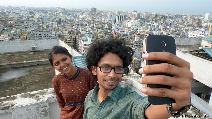 Nur für Life Links - Selfie auf dem Dach