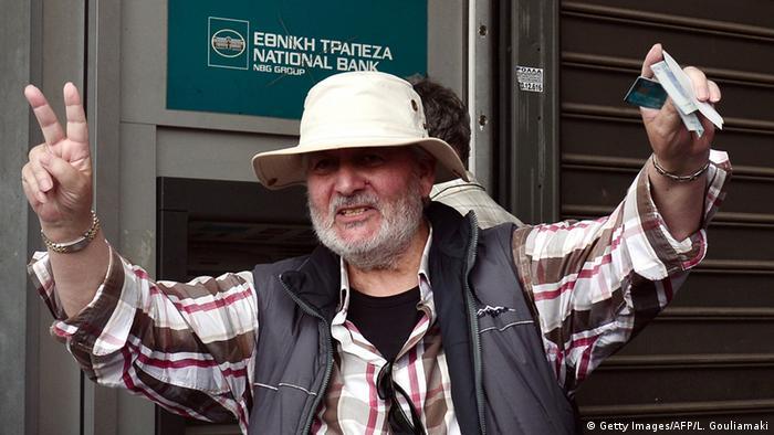Griechenland Schuldenkrise (Getty Images/AFP/L. Gouliamaki)