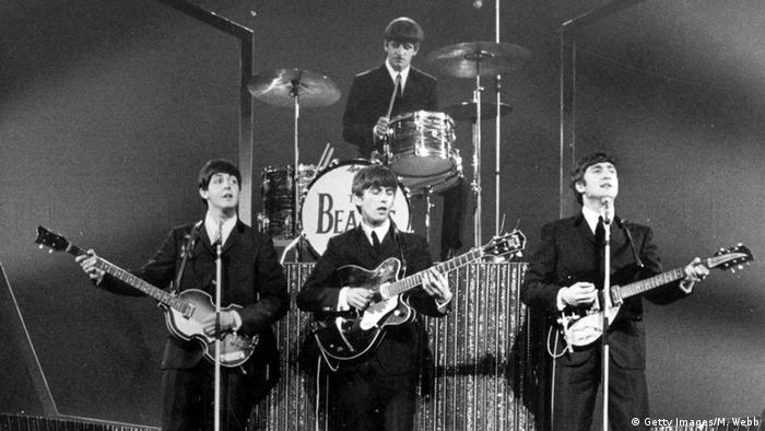 Ringo Starr - En concierto de los Beatles 1963