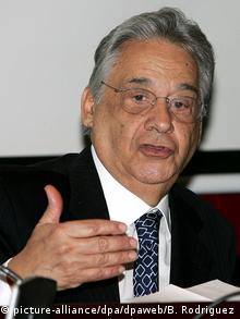 El sociólogo Fernando Henrique Cardoso, expresidente de Brasil (1995-2002).