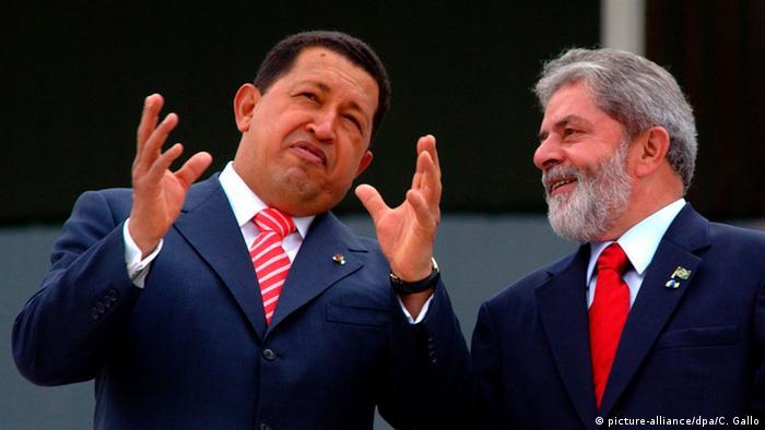 Lula and Hugo Chávez
