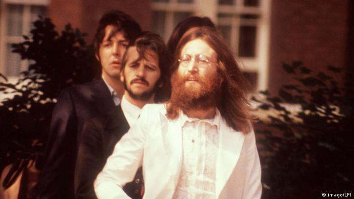 Na sessão fotográfica não foi possível ver muito entusiasmo nos rostos dos integrantes dos Beatles