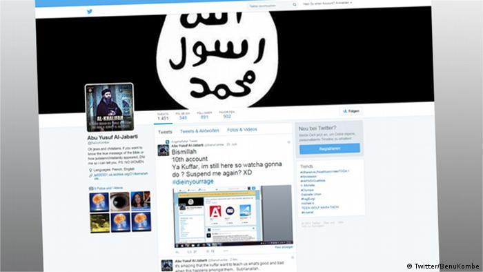 IS-Propaganda in den sozialen Medien