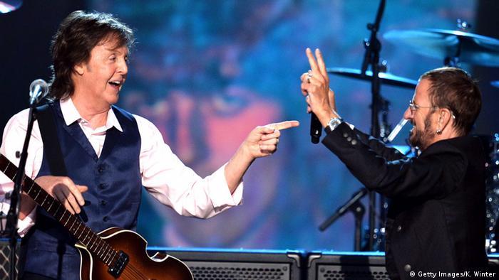 Ringo Starr - Paul McCartney und Ringo Starr 2014