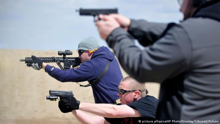 8 Facts About Gun Control In The Us News And Current Affairs From Germany And Around The World Dw 20 01 2020