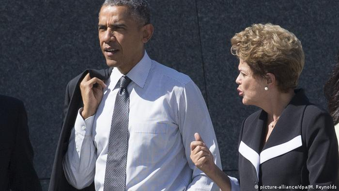 Barack Obama in Brasilien mit Dilma Rousseff
