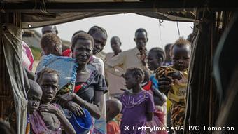 Symbolbild Frauen Opfer Konflikt Südsudan