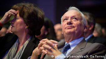 Jean-Marie Cavada (on the right); Copyright: Picture Alliance/dpa/X. de Torres