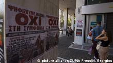 NO Vote Poster in Athen