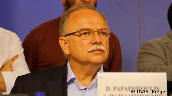 Ο ευρωβουλευτής του ΣΥΡΙΖΑ Δημήτρης Παπαδημούλης