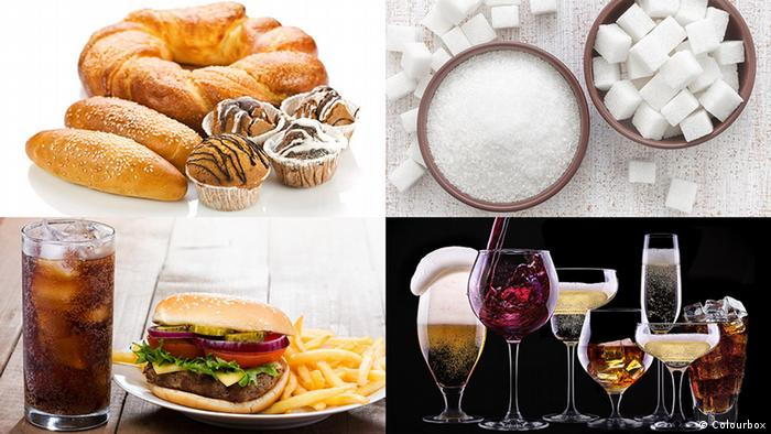 The worst thing for the figure is to eat high fat foods and white flour products with high sugar or fructose.  The best: forget sweet drinks and junk food, like chips or hamburgers.  In addition, alcohol has many calories.