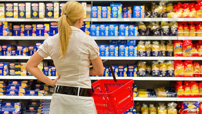 If you are hungry while buying food, you will end up with a lot of food that you do not need.  It is better to go to the supermarket after eating.  With a full stomach, you can think better than necessary for a good diet.