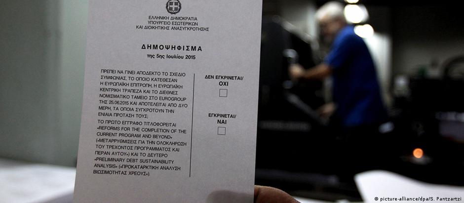 """""""Não"""" acima do """"sim"""": ordem alfabética invertida segundo o alfabeto grego"""