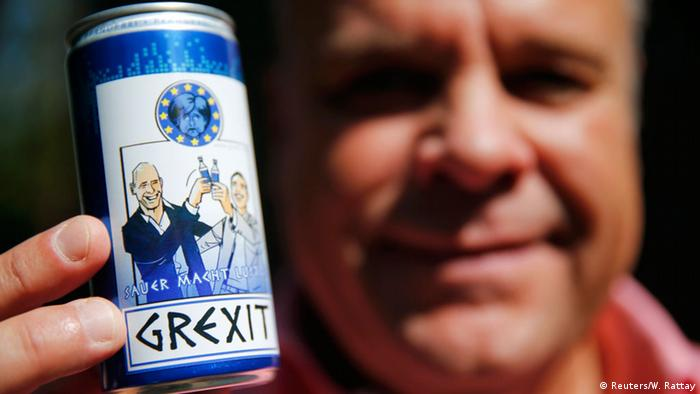 Grexit-Energydrink (Reuters/W. Rattay)