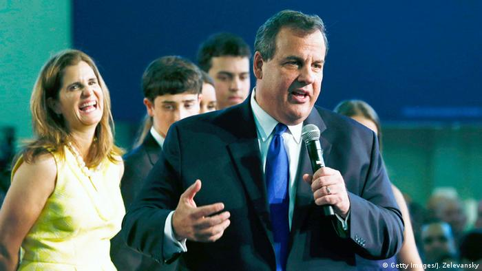 Chris Christie, governor, New Jersey