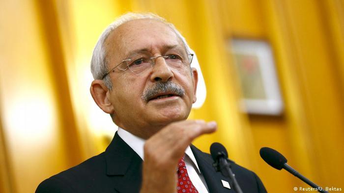 Türkisches Parlament Kemal Kilicdaroglu
