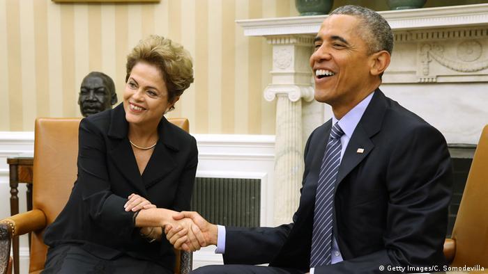 Barack Obama e Dilma Rousseff