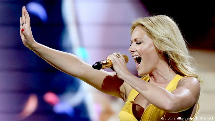 Helene Fischer in Rostock, Copyright: picture-alliance/dpa/B. Wüstneck