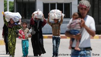 Syrien Krieg IS Tel Abyad