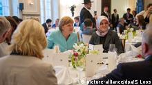 Deutschland Merkel Ramadan Fastenbrechen