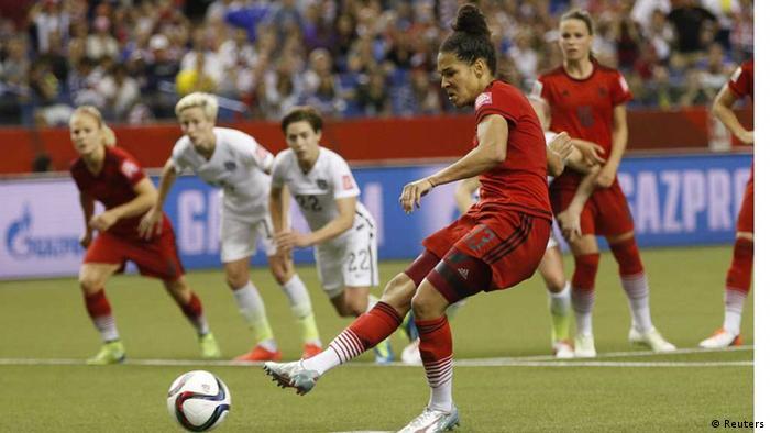 Frauenfußball-WM: Halbfinale Deutschland - USA