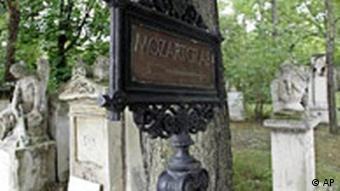 Mozartgrab in Wien (AP)