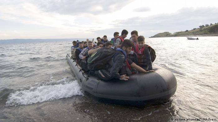Griechenland Bootsflüchtlinge