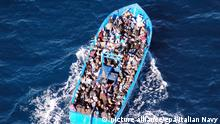 Italien Bootsflüchtlinge