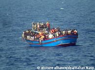 На таких суднах біженці намагаються дістатися узбережжя Європи