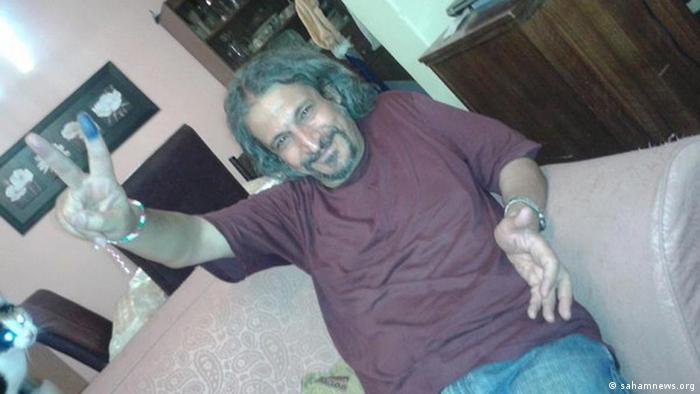 عکسی که سحام نیوز از حشمتالله طبرزدی پس از آزادی از زندان منتشر کرده است