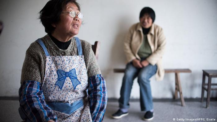 China Rudong Demografie Bevölkerung Senioren Ein-Kind-Politik