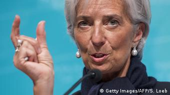 Griechenland Krise Christine Lagarde IWF Illustration (Getty Images/AFP/S. Loeb)