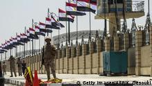 Ägypten Armee Soldaten Symbolbild